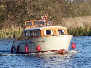 Fraeya wooden boat